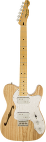 Squier Vintage Modified '72 Telecaster® Thinline, Maple Fingerboard, Natural