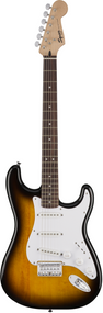 Squier Bullet Stratocaster® Hard Tail, Laurel Fingerboard, Brown Sunburst