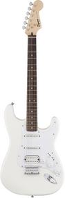 Squier Bullet Stratocaster® HSS Hard Tail, Laurel Fingerboard, Arctic White