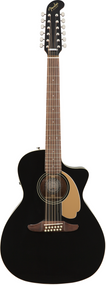 Fender Villager 12-String, Black V3