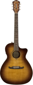 Fender FA-345CE Auditorium, 3-Tone Tea Burst