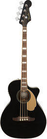 Fender Kingman Acoustic Bass Black w/bag