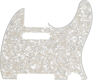 Fender  Pickguard, Telecaster®, 8-Hole Mount, Aged White Pearl, 4-Ply