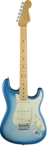 Fender American Elite Stratocaster®, Maple Fingerboard, Sky Burst Metallic, w/case
