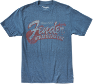 Fender® Since 1954 Strat T-Shirt, Blue, M