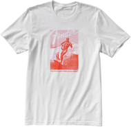 Fender® Jaguar® Surf T-Shirt, White and Red, XL