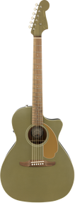 Fender Newporter Player, Olive Satin