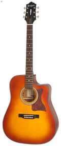 Epiphone DR-400MCE Acoustic/Electric, Faded Cherry Sunburst