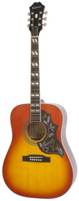 Epiphone Hummingbird Pro Acoustic/Electric, Faded Cherry Sunburst