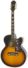 Epiphone EJ-200SCE Acoustic/Electric, Vintage Sunburst