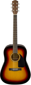 Fender CD-60 Dreadnought V3, Sunburst, w/case