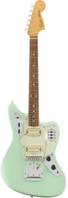 Fender Vintera '60s Jaguar® Modified HH, Pau Ferro Fingerboard, Surf Green