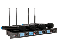 American Audio WM-419 4 Channel Handheld Wireless Mic System