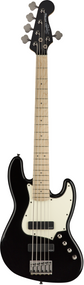 Squier Contemporary Active Jazz Bass® V HH, Maple Fingerboard, Black