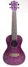 Amahi C27 Concert Purple Quilt Ash w/bag