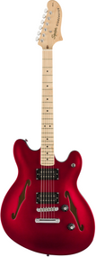 Fender Affinity Series™ Starcaster®, Maple Fingerboard, Candy Apple Red