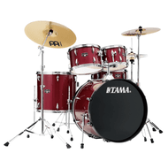 Tama IE52CCPM 5-Piece Complete Kit with Meinl HCS Cymbals