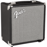 Fender Rumble™ 15 (V3), 120V, Black/Silver