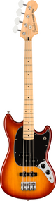 Fender Player Mustang® Bass PJ, Maple Fingerboard, Sienna Sunburst