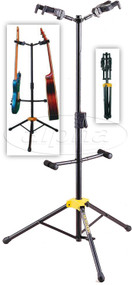 Hercules Stands GS422B Folding Neck Double Guitar Stand
