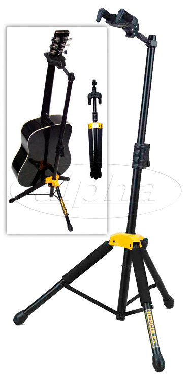 Hercules Single Guitar Stand With Folding Neck