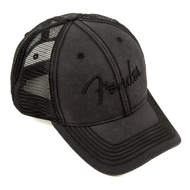 Fender® Blackout Trucker Hat, One Size Fits Most