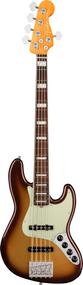 Fender  American Ultra Jazz Bass® V, Rosewood Fingerboard, Mocha Burst, w/case