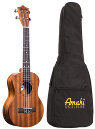 Amahi UK210T Tenor Mahogany w/bag