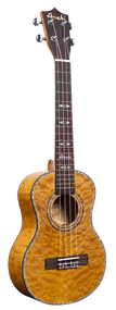 Amahi C-02T Tenor Camphor Burl top w/bag