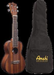Amahi UK220T Tenor Mahogany Satin w/bag