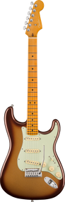 Fender American Ultra Stratocaster®, Maple Fingerboard, Mocha Burst, w/case
