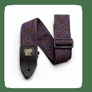Ernie Ball Purple Paisley Jacqard Strap 4164