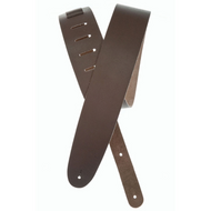 D'Addario Basic Leather Guitar Strap, Brown