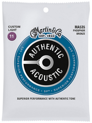 Martin MA535 SP Custom Light 11 Phosphor Bronze