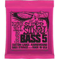 Ernie Ball 2824 Super Slinky 5-string 40-125 Electric Bass Strings
