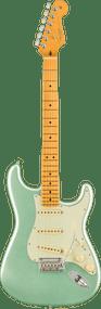 Fender  American Professional II Stratocaster®, Maple Fingerboard, Mystic Surf Green