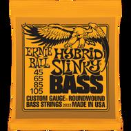 Ernie Ball 2833 Hybrid Slinky 45-105 Electric Bass Strings