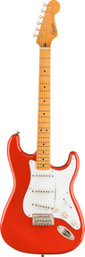 Fender Classic Vibe '50s Stratocaster®, Maple Fingerboard, Fiesta Red