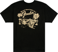 Fender® Get There Faster T-Shirt, Black, XXXL