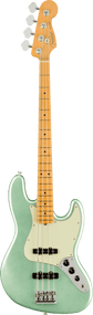 Fender American Professional II Jazz Bass®, Maple Fingerboard, Mystic Surf Green