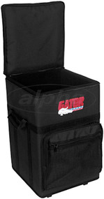 Gator Cases GPA-720 Semi-Hard Powered Mixer Rolling Case