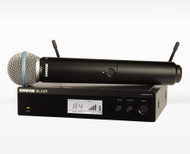 Shure BLX24R/SM58 Handheld Wireless with SM58 Capsule