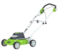 "18"" 12A 2-in-1 Electric Mower"