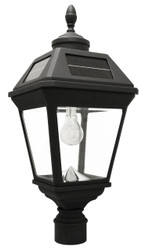 "Acorn Finial Imperial Solar Lantern 3"" Post Fitter"