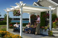 Avalon Louvered Pergola (9' x 9')