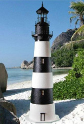 Bodie Island Stucco Lighthouse (3')
