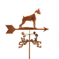 Boxer Weathervane