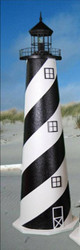 Cape Hatteras E-Line Stucco Lighthouse (3')