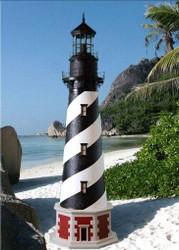 Cape Hatteras Stucco Lighthouse (12')