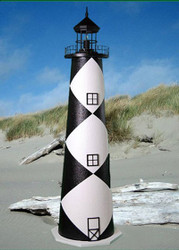 Cape Lookout E-Line Stucco Lighthouse (3')